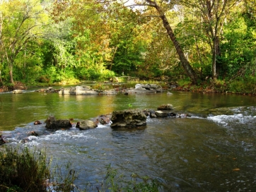 A CLEANER CHOCCOLOCCO CREEK - COOSA RIVER